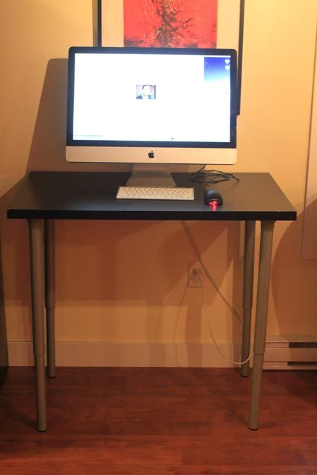 38 best diy standing desk images on pinterest music for Ikea motorized standing desk