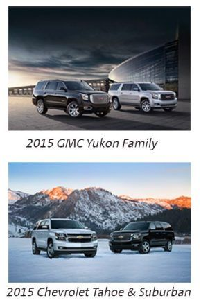 2015 Chevrolet and GMC Big SUVs Get Better Gas Mileage
