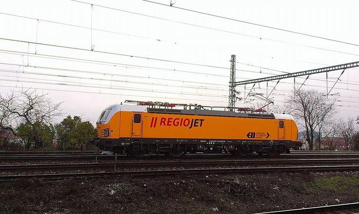 Siemens Vectron for the Czech private RegioJet - by Tomáš Begáň - november 2014