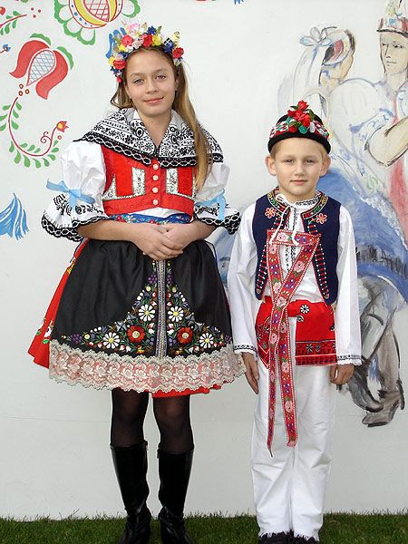 Kyjovské kroje - Czech republic