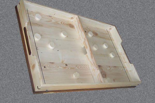 tuto pour fabriquer un jeu de passe trappe en bois