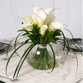 Use these Beautiful Calla Lily Wedding Centerpieces to bring a soft, classic prettiness to your decor.