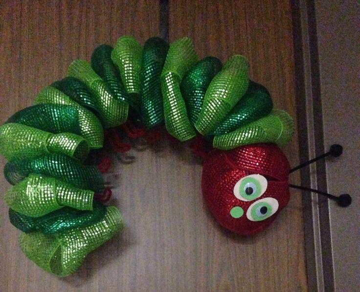 Hungry Caterpillar Wreath Wreaths Pinterest
