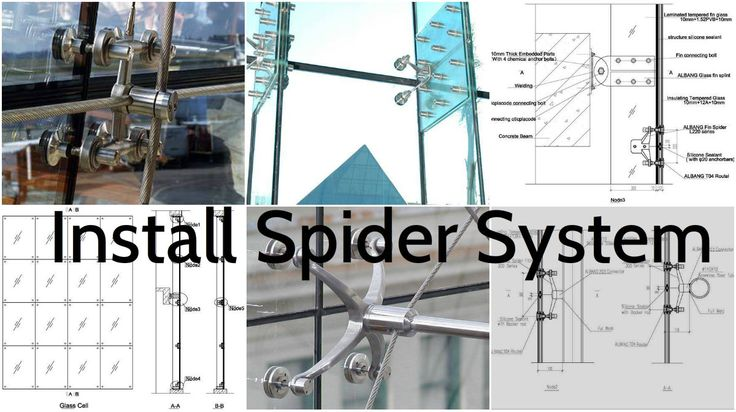 Details for the Installation of a Glass Spider System – Architecture Admirers