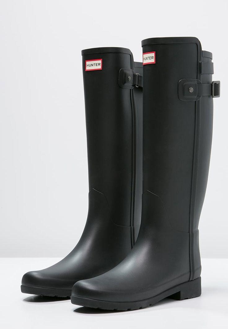 Bestill Hunter Gummistøvler - black for kr 1695,00 (05.10.16) med gratis frakt på Zalando.no