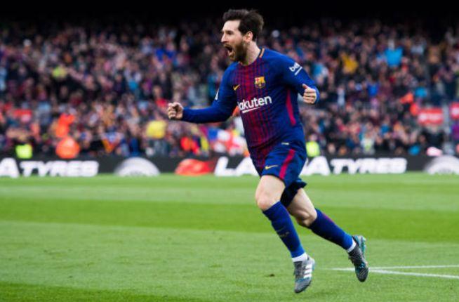 OLE777Sports - Gol indah dari megabintang Barcelona, Lionel Messi, terjadi melalui tendangan bebas setela La Pulga dijatuhkan oleh Thomas sedikit di luar kotak penalti.  #HasilPertandingan #Freekick #Gol #Goal #Barcelona #KlasemenLigaSpanyol #LaLiga #LigaSpanyol #LionelMessi #Messi