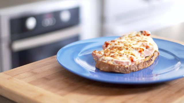 Mozzarella Croque Monsieur