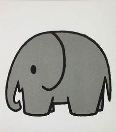 kleurplaat olifant dick bruna - Google zoeken