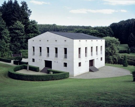 House in Glashutte, France by Oswald Mathias Ungers