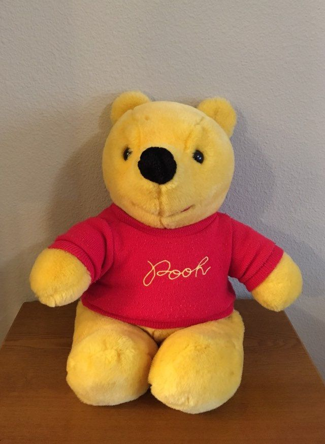 1980 S Disney Winne The Pooh Doll Vintage Large Sears Etsy Winne The Pooh Vintage Winnie The Pooh Pooh