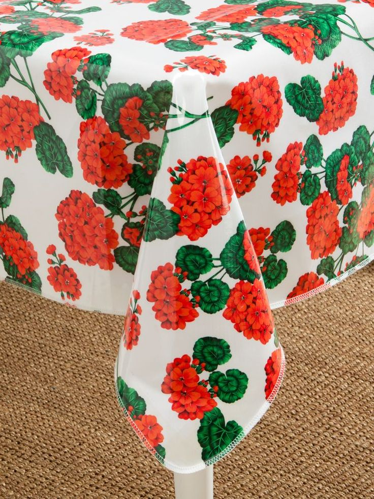 Perfect Heavy Duty Oilcloth Tablecloths: Wipe Clean Real Fabric That Wonu0027t Peel Or  Crack