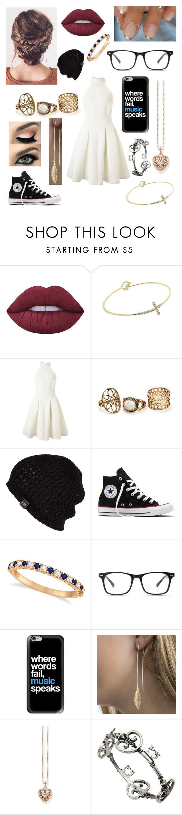 """""""'Mary, Did You Know'"""" by caketime ❤ liked on Polyvore featuring Lime Crime, New Directions, Miss Selfridge, UGG Australia, Converse, Allurez, Casetify, Hurleyburley and Thomas Sabo"""
