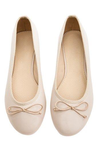 Cool Have2have Ballerinasko Beige Have2have Sko til Outlet i fantastisk kvalitet