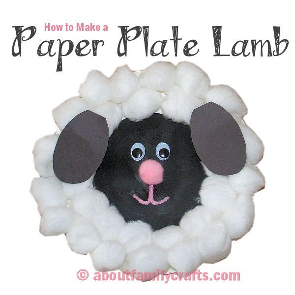 65 best images about farm animal crafts for children on for Cardboard sheep template
