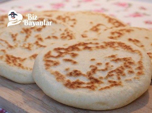 Bazlama Tarifi Bizbayanlar.com #IlıkSu, #Maya, #Şeker, #Tuz, #Un,#HamurişiTarifleri, #KahvaltılıkTarifleri http://bizbayanlar.com/yemek-tarifleri/hamurisi-tarifleri/bazlama-tarifi/