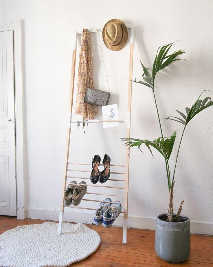 les 25 meilleures id es de la cat gorie porte manteau leroy merlin sur pinterest porte. Black Bedroom Furniture Sets. Home Design Ideas