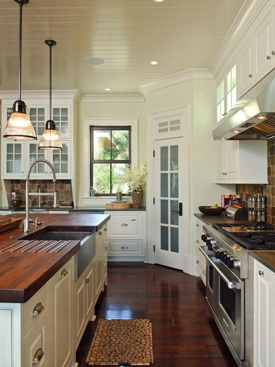 Kitchen - Tropical Kitchen Design, Pictures, Remodel, Decor and Ideas by victoria