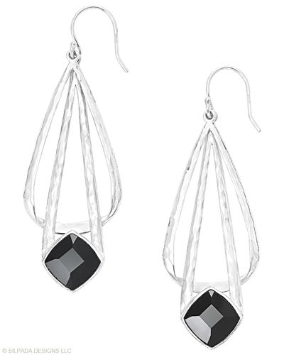 Style this stunning never sleeps. Onyx, Sterling Silver. https://mysilpada.com/sites/barb.lyon/private/content/home.jsf#bmb=1