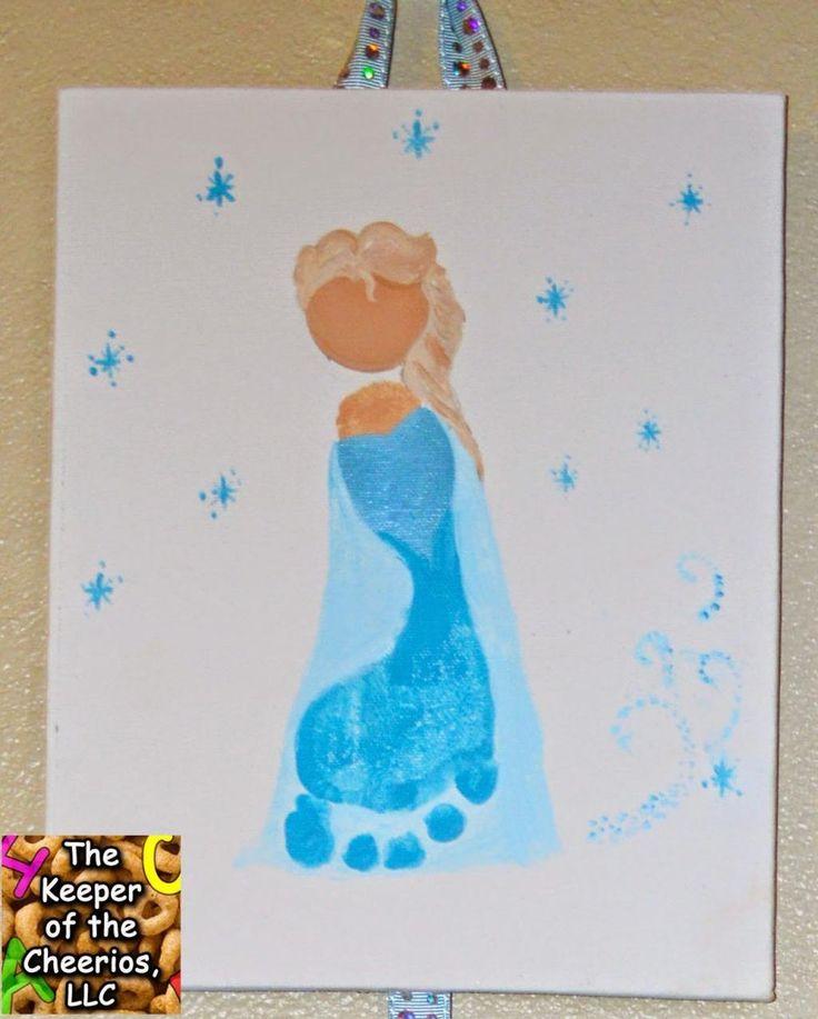 20 personnages peints avec les pieds de petits enfants! Vous avez une garderie en milieu familial, ou vous travaillez dans un service de garde? Ceci vous inspirera certainement un bel atelier de peinture à faire avec les enfants! Peindre avec les pie