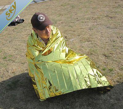 Чрезвычайная Одеяло Выживания Спасения Открытый Портативный спасательные Палатки Военных