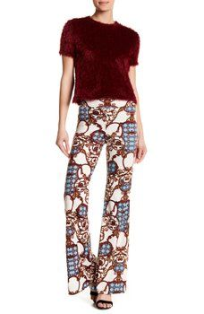 American Twist - Royal Design Plazzo Pants