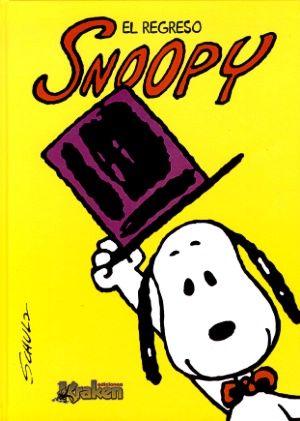 8-12 AÑOS. Snoopy: el regreso / Charles M. Schultz. Una magnífica selección de las tiras de Snoopy, el desquiciante pero entrañable beagle que inevitablemente nos hace reír con su persona sentido de la realidad. Diversión asegurada para todos los públicos, con todos los personajes de Peanuts: Charlie Brown, Lucy, Emilio. . .