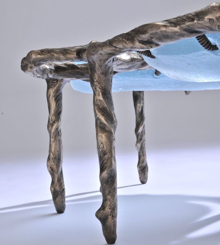 Metsing Table - A Limited Edition collaboration piece, between OKHA Design & Interiors and Atang Tshikare