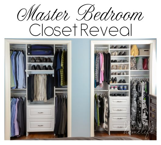 organizing master bedroom closet 206 best closets images on bedroom cupboards 16577