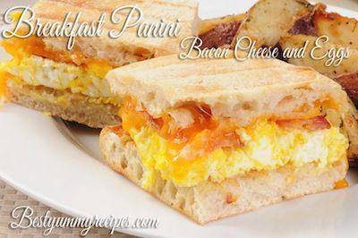 ... Breakfast Panini on Pinterest | Panini recipes, Paninis and Panini