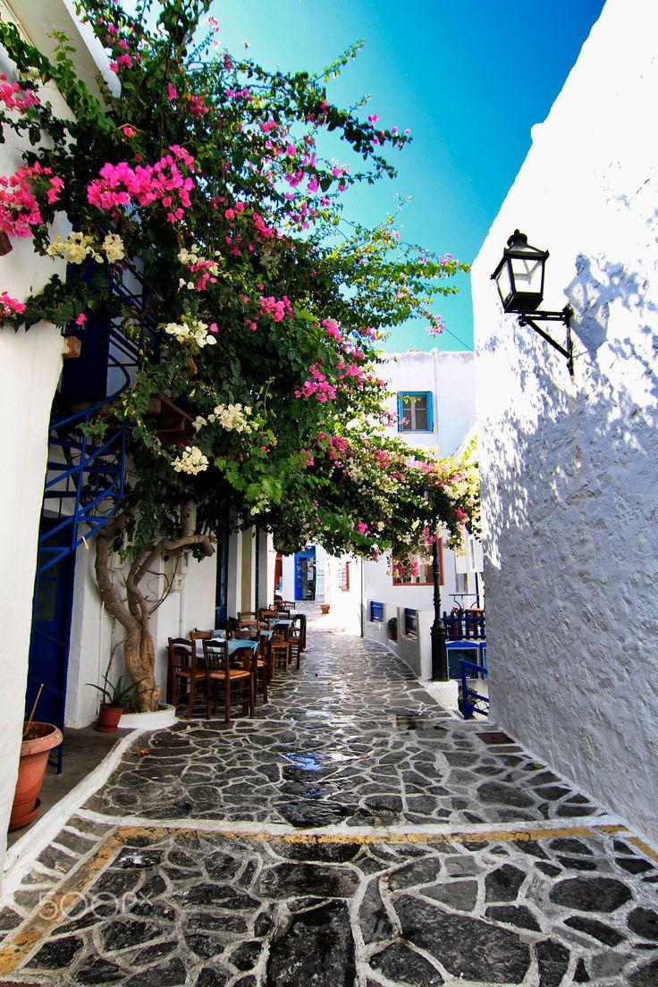 Plaka Milos island, Greece