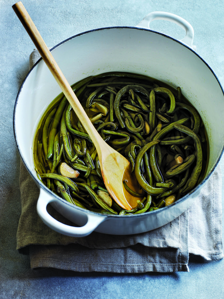 Naomi Pomeroy's Long-Cooked Green Beans