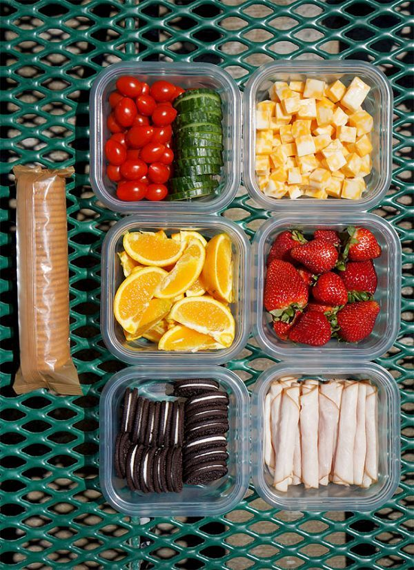Easy Picnic Lunch Ideas                                                                                                                                                      More
