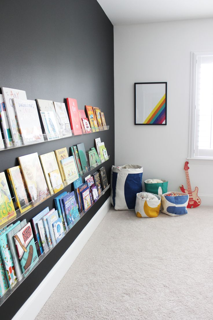 Rainbow / Harry Potter Themed Kid's Bedroom