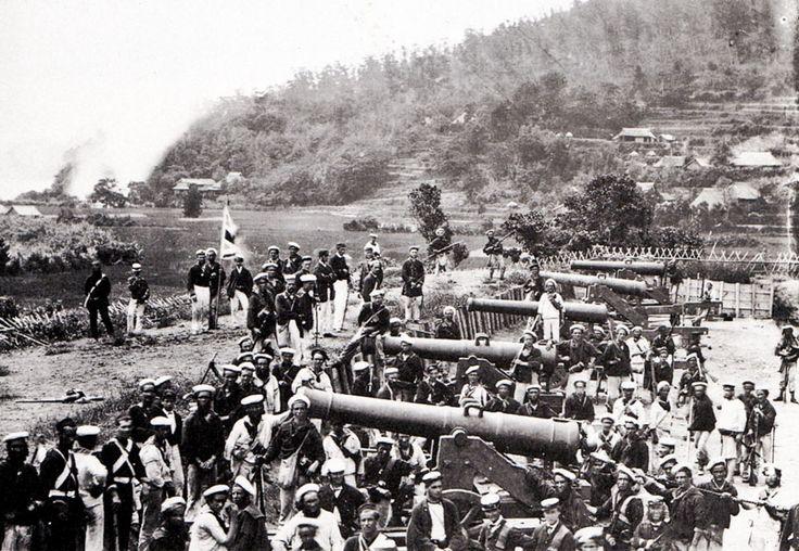 長州藩は敗れ、前田砲台も占拠