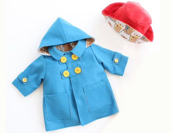 This listing includes the WITTY BEAR Jacket and the Rain HAT pattern for a limited time (TWO Pdf files) :) ❤ (◕‿◕) Please, look after this cute WITTY