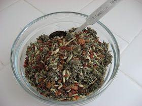 Recipes to Nourish: Nourishing Herbal Tea Infusion