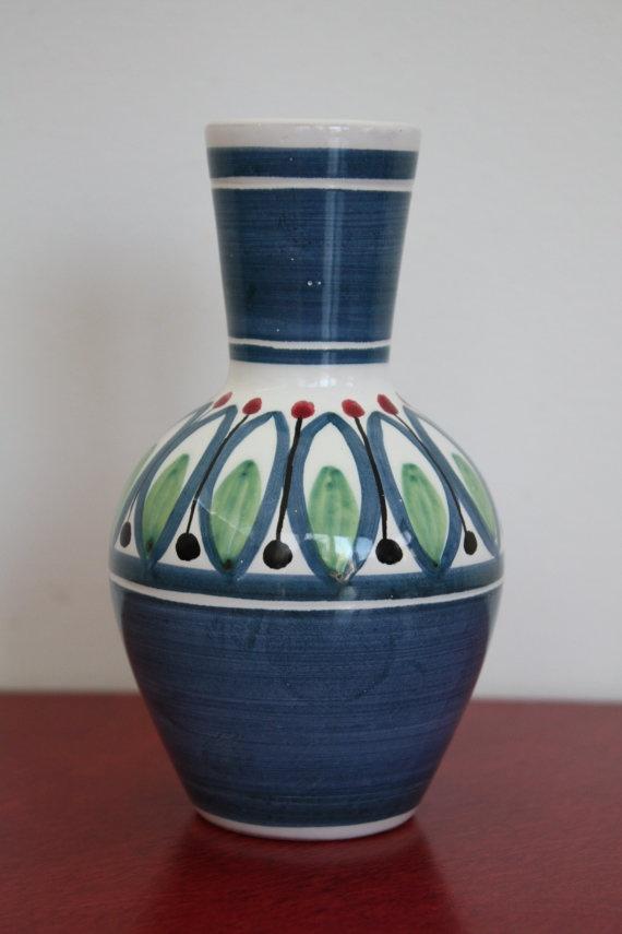 Vintage 1950s Norwegian (Elle) Ceramic Vase