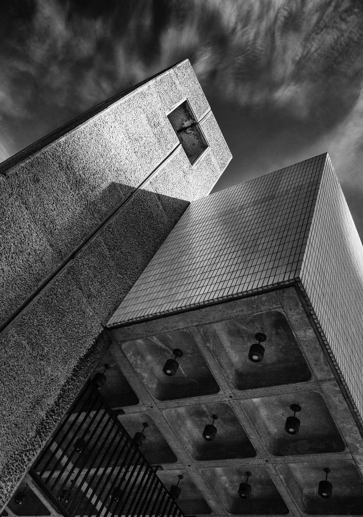 Brutalism in the city - The end result of an afternoon spent wandering through the brutalist architecture at the Barbican Centre, London