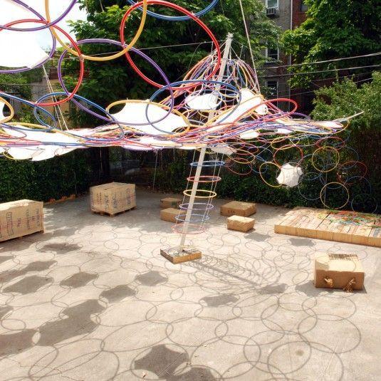 Image result for hoop kiosk structure