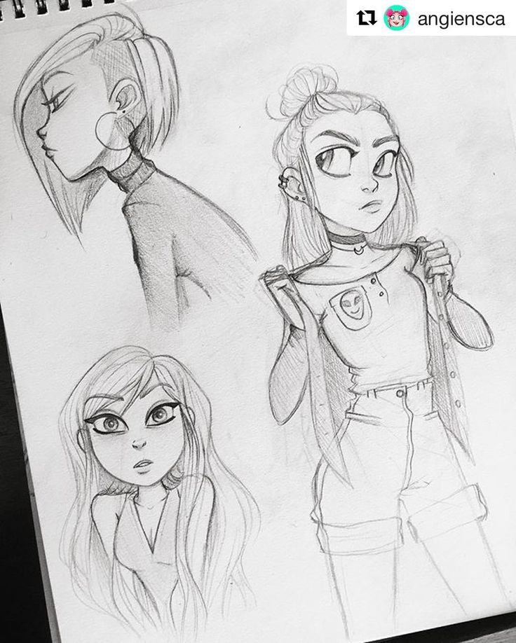#wooolikes @angiensca  Sketches from a couple of months back  #angiensca #sketch…