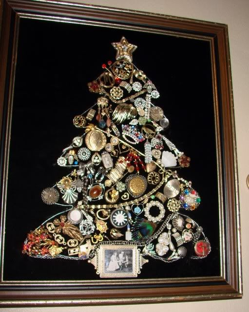 Amazing How To Make A Costume Jewelry Christmas Tree Part - 11: Costume Jewelry Trees | ... Costume Jewelry U0026 Some Of My Own U0026 Incorporate