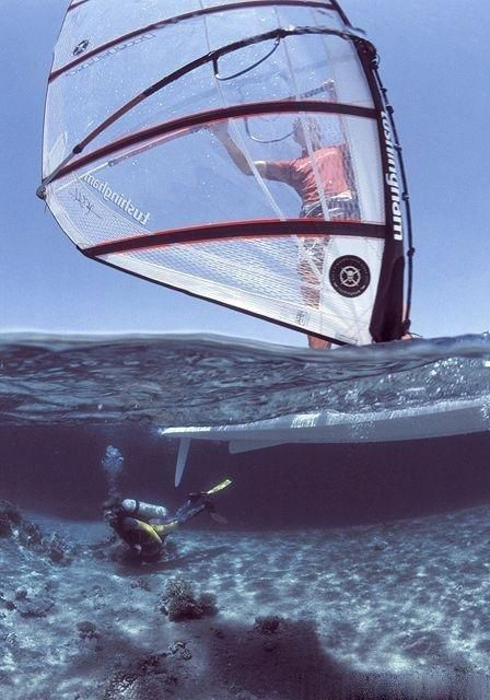 Watersport #Windsurfing
