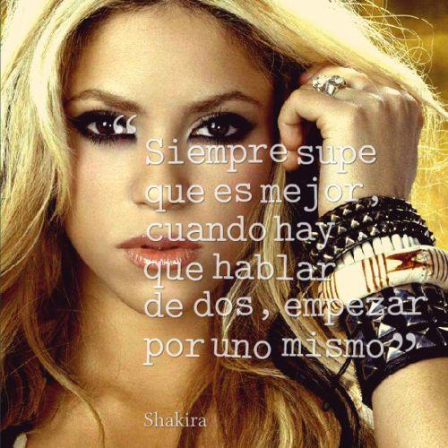 shakira http://www.escribircanciones.com.ar/ ☺. ☺#canciones #frases letras de canciones