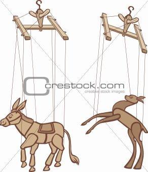 Puppets - Puppets --- #Theaterkompass #Theater #Theatre #Puppen #Marionette #Handpuppen #Stockpuppen #Puppenspieler #Puppenspiel