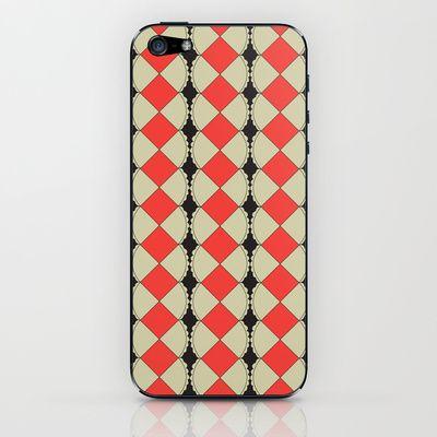Geometric4 iPhone & iPod Skin by dua2por3 - $15.00
