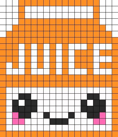 Food sprites-juice perler pattern