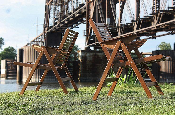 Groundbreaking Niko Kralj Foding Bentwood Rex Arm Chair (Slovenia, 1950s) | por…