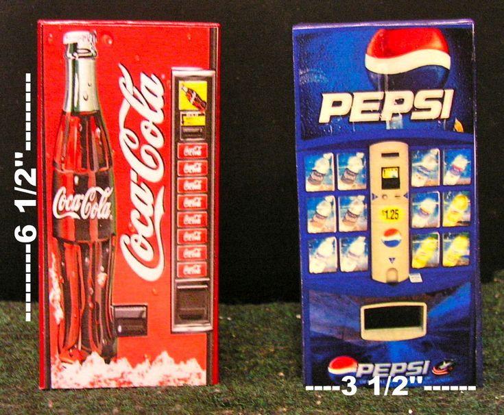 One Soda Vending Machine 1:12  Dollhouse miniature ! #Generic