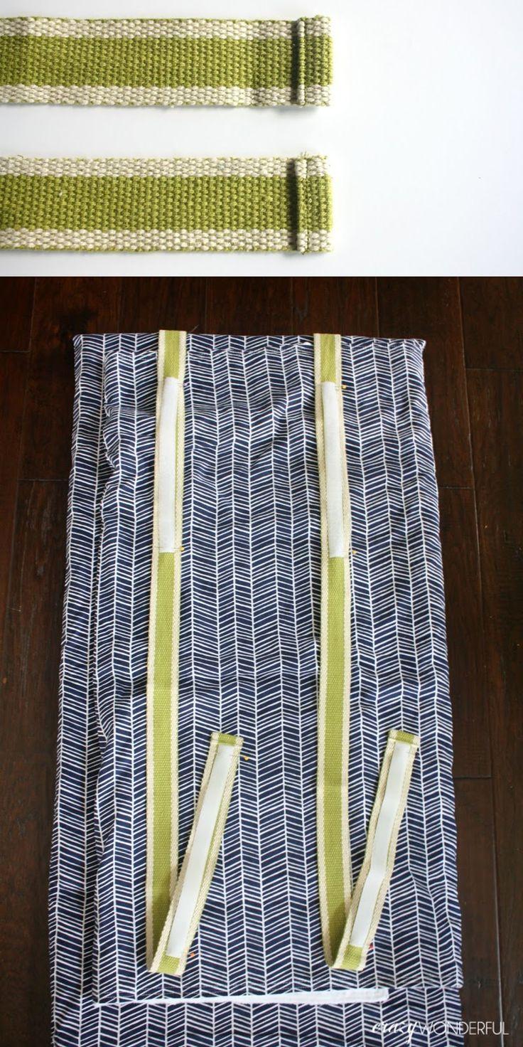 DIY nap mat cover | tutorial