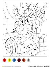 Coloriage Code Gs Noel.Brilliant Coloriage Magique Gs Noel Adult Coloring Pages